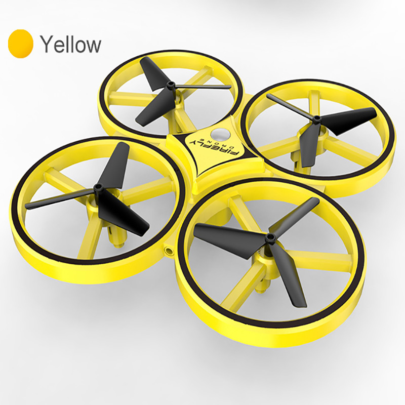 mini UFO drone Gesture Aircraft Induction Drones Smart Watch Remote Sensing Rc Helicopter Super resistance rc Quadcopter rc toy