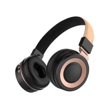 цена на Wireless Bluetooth Headset Bluetooth Headphones with Microphone TF Card FM Foldable Stereo Bass Earphone for PC Phone Mp3