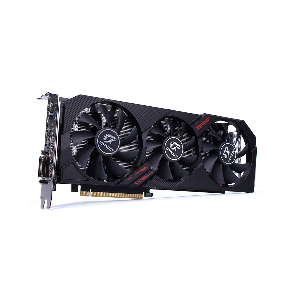 Colorful IGame GeForce GTX 1660 SUPER Ultra 6G Graphic Card 1830MHz GDDR6 6GB RGB Light One-Key Overclock GPU