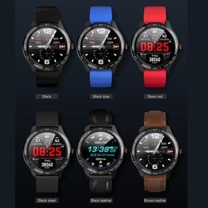 Image 2 - جرينتيجر L9 ساعة ذكية الرجال ECG + PPG معدل ضربات القلب ضغط الدم شاشة عرض نسبة الأكسجين في الدّم IP68 مقاوم للماء بلوتوث Smartwatch VS L5 L7 L8