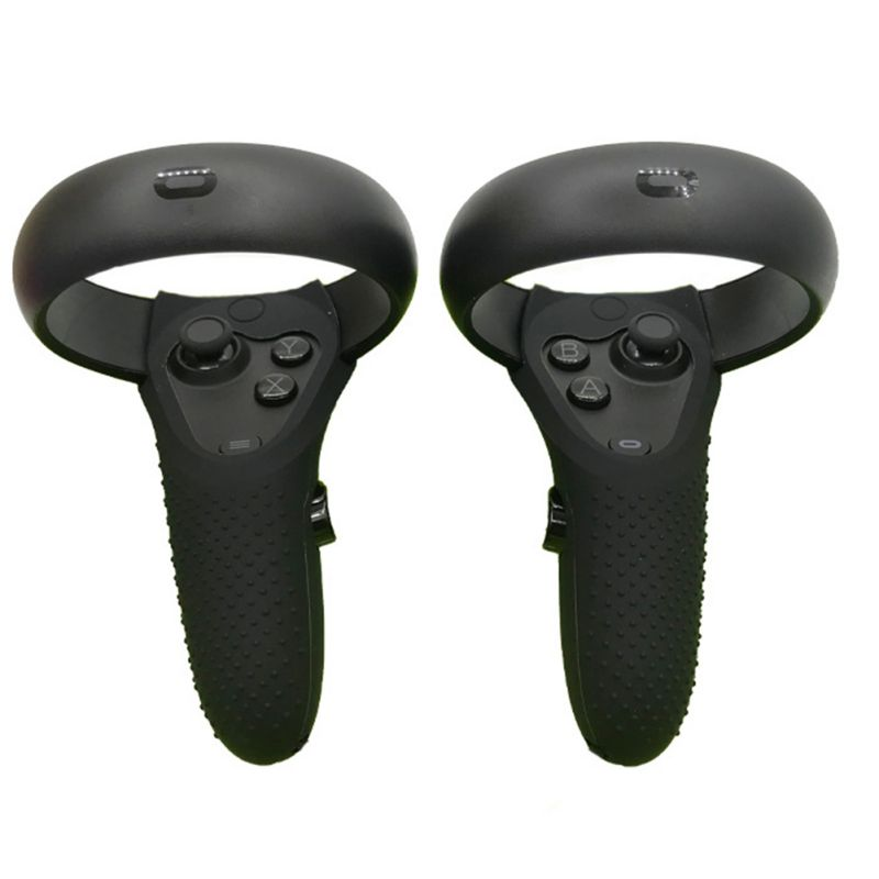 1 par Silicone Aperto Pele À Prova de Choque Da Tampa Do Zero para Oculus VR Busca/Rift S