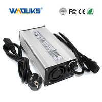 Cargador de batería de iones de litio de 46,2 V y 6A, para carretilla elevadora de batería de iones de litio de 11S y 40,7 V, para coche eléctrico y patinete eléctrico