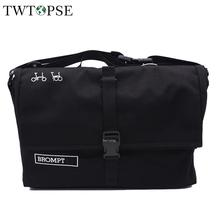 TWTOPSE Bike Roll Top Bag For Brompton Folding Bicycle Bag Water Resistant About-town