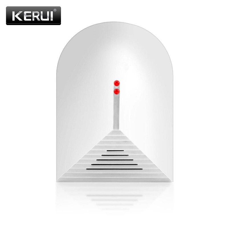 KERUI 433MHZ Wireless Sensitive Broken Glass Detector Glass Break Sensor Compatible With KERUI Home Security Alarm System