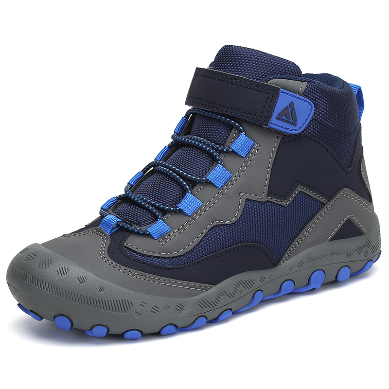 Autumn Hiking Shoes Kids Outdoor Sneakers Boys Girls Ankle Trekking Shoes Children Winter Hiking Boots Breathable Tenis Infantil