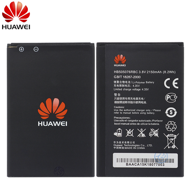 Hua Wei Replacement Phone Battery HB505076RBC For Huawei Y3 ii Y3II U22 G606 G610 G610S G700 G710 G716 A199 C8815 Y610 2150mAh