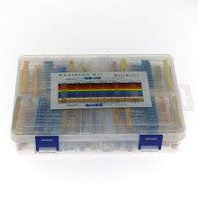 860Pcs/Box 86Values Each 10Pcs Metal Film Resistor 1% 1W Assorted Kit 0.1 ohm~ 10M ohm Capacitor Range