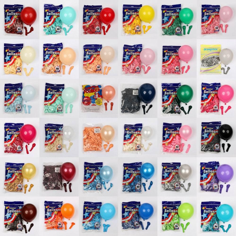 Латексные воздушные шары 5 дюймов, 30/50/100 шт.