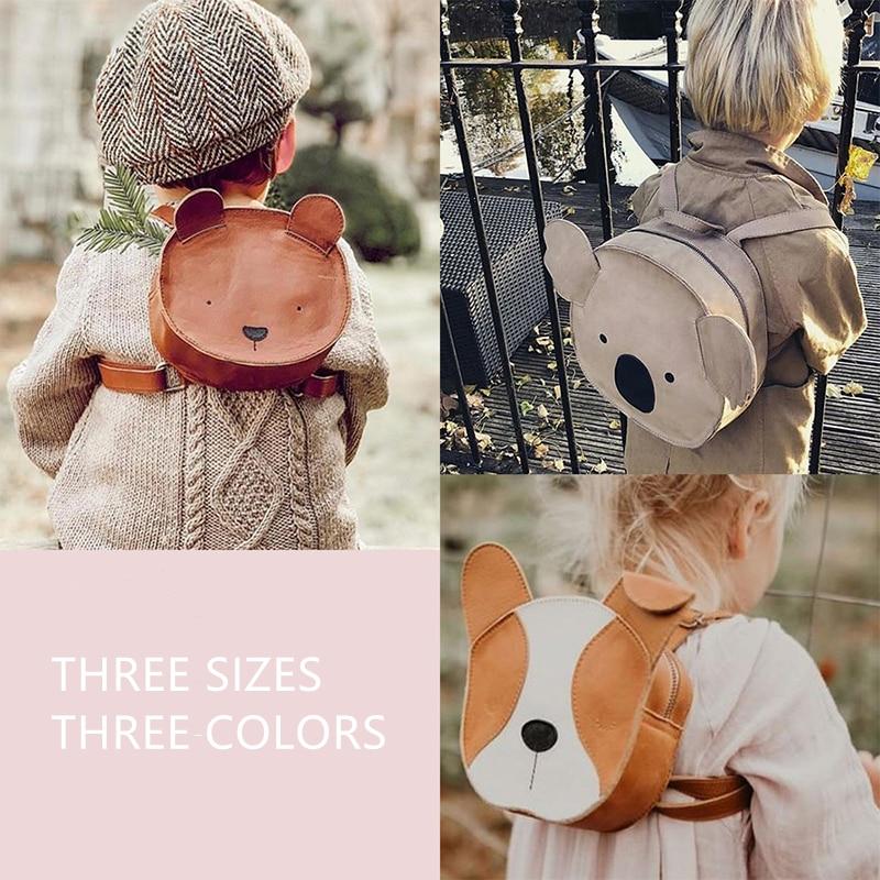 Из натуральной кожи! Австралийский бренд для маленьких мальчиков и девочек, школьная сумка с изображением животных для детей, милая ручная работа, все аксессуары