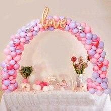 Самодельные воздушные шары, Настольная АРКА, съемные Свадебные украшения, настольная подставка, воздушные шары, аксессуары, инструменты для украшения вечеринки, дня рождения