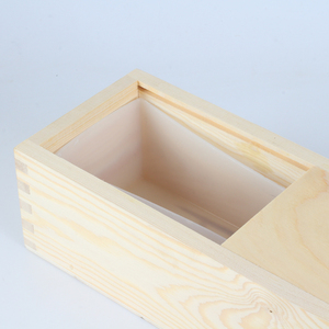 Image 3 - Long Size Soap Silicone Mold Rectangle with Wood Box Handmade Swirl Loaf Soaps Making Tool Mould