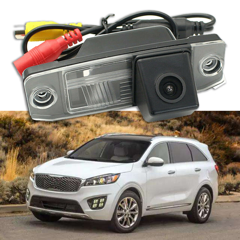 Special Car Rear View Reverse Backup CCD Camera Rearview Parking for Kia Sorento Sportage Carens Ceed Opirus