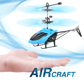 Baby Toys Drone Flying Helicopter Toys for Kids LED Flashing Children Assembly Infraed Induction Aircraft  Planes Birthday Gift