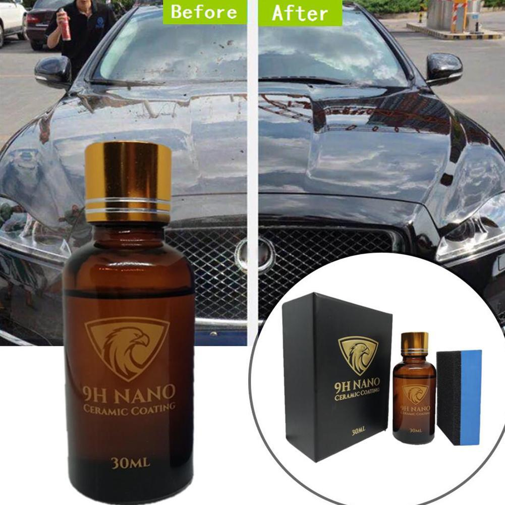 Ceramic Car Coating Car Scratch Remover Liquid Skin 9H Waterproof Nano Hydrophobic Car Polish Paint Repair Paint Care Protector