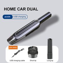 Cordless Handheld Vacuum Cleaner 6000 PA Sunction 4000mAh Rechargeable dust collector Dry/Wet Portable dust cleaner for Home Car