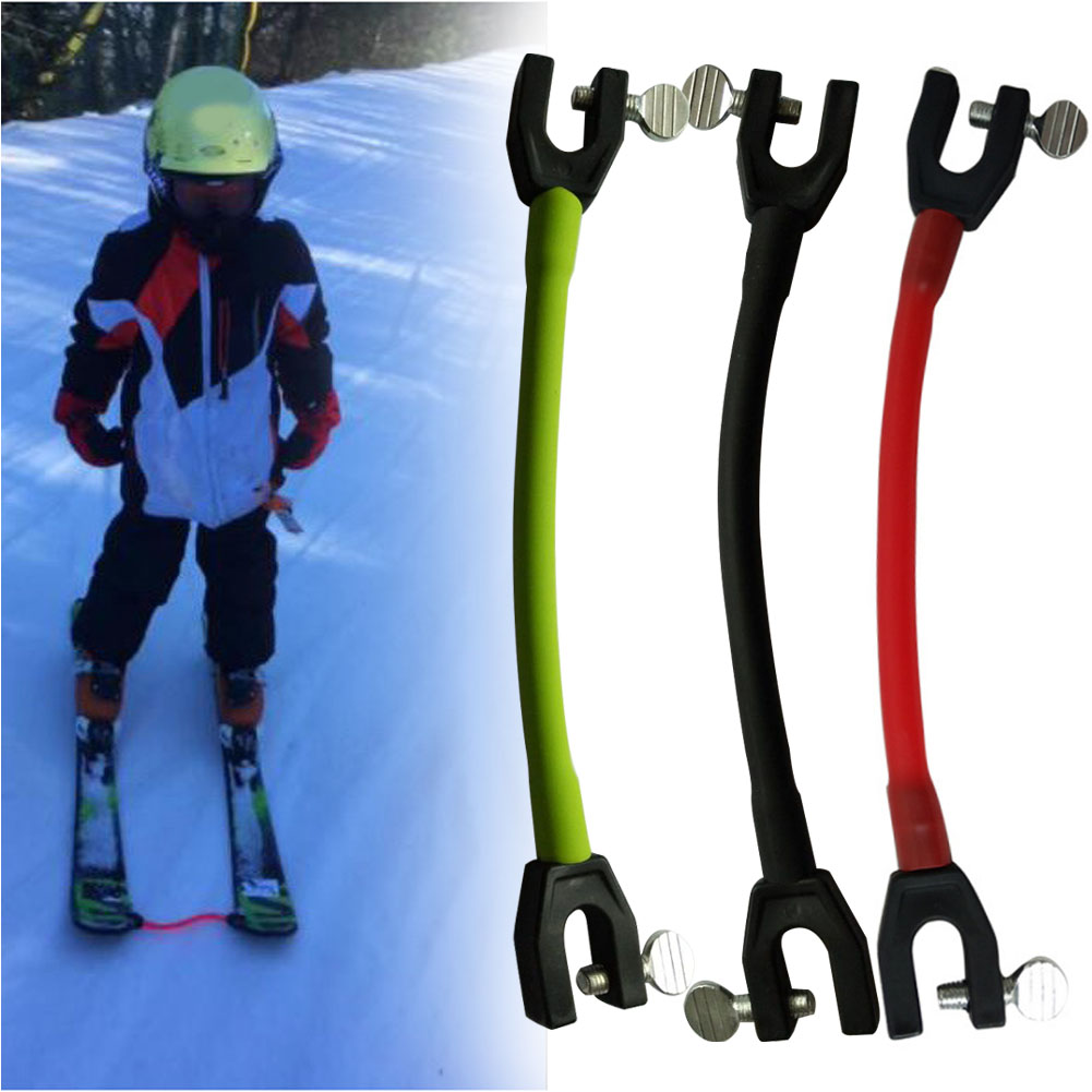 Beginner Removable Ski Tip Connector Control Speed Training Wedge Protection Elastic Clip Winter Outdoor Sports