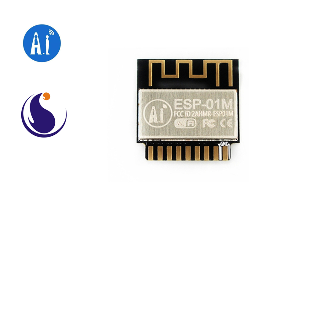 ESP-01M Ai-Thinker 2.4 GHz Wi-Fi Module ESP8285 Chip / Serial To WiFi / Wireless Pass-through / AIoT Internet Of Things