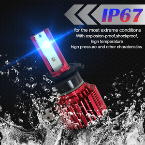 Image 4 - 2PCS CarTnT Auto Scheinwerfer Lampen H7 LED H9 HB3 9005 HB4 9006 H11 H8 Led lampe Canbus 100W 20000LM 6000K 12V LED Scheinwerfer Lampe