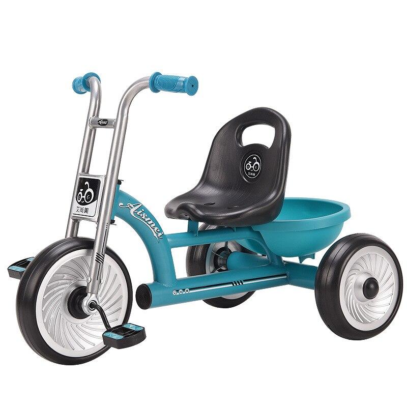 Luxury 2 In 1 Baby Stroller Tricycle Kids Bicycle Trike 1-6Y baby bike Three-Wheeled Bicycle Multi-Function Trolley