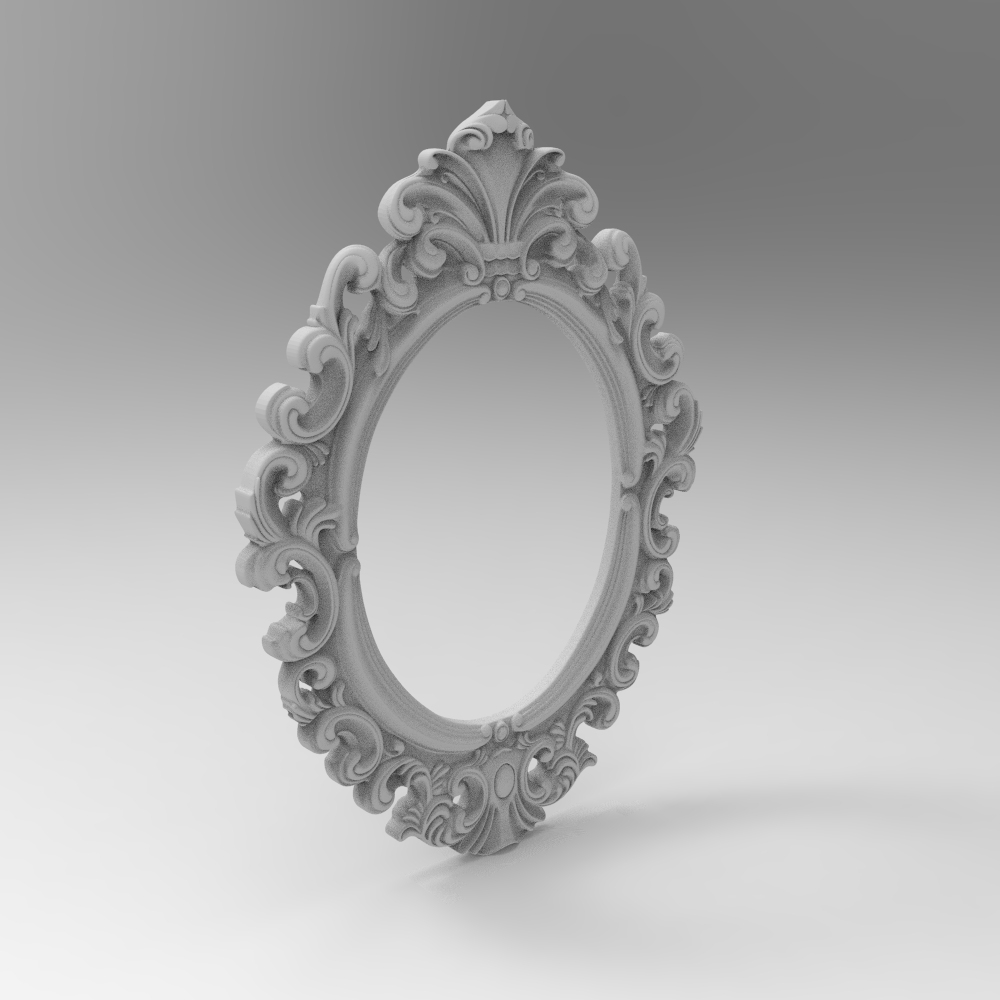 Digital File Photo Frame 3d Model Relief For Cnc Carving Engraving In STL File Format Artcam Type3 Aspire E96