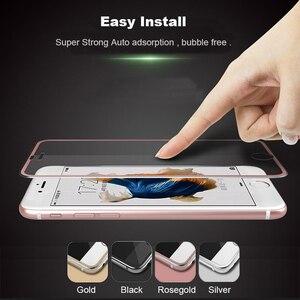 Image 2 - Suntaihoフルカバーiphone 7 7プラス3D湾曲縁合金金属フレーム強化ガラス7 8 6s 6プラス