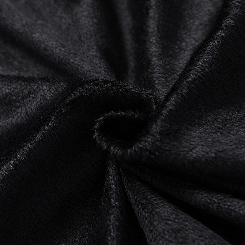 Veste d'hiver hommes noir épais Parka veste fermeture éclair chaud hommes vestes décontracté hommes manteau Polyester hiver parcs pour hommes L-4XL - 5