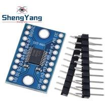 ShengYang – convertisseur de niveau logique à 8 canaux, TXS0108, Module de tension bidirectionnel pour Arduino avec broches