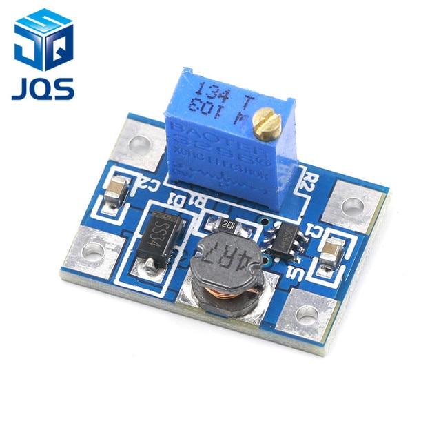 2-24V to 2-28V 2A DC-DC SX1308 Step-UP Adjustable Power Module Step Up Boost Converter for DIY Kit 1