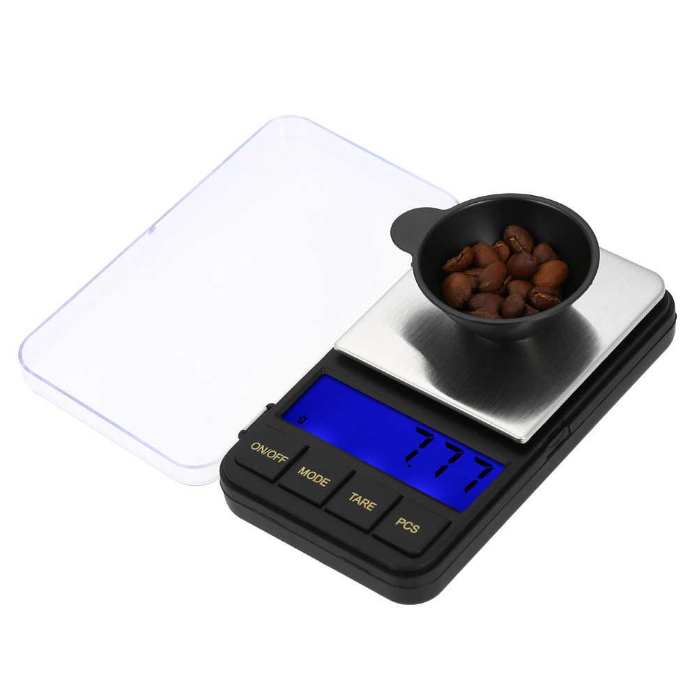 500g/0,01g Elektronische Küche Skala 0,01 gramm Tasche Schmuck Früchte Lebensmittel Skala Kochen Balance Mini Digital Küche skala