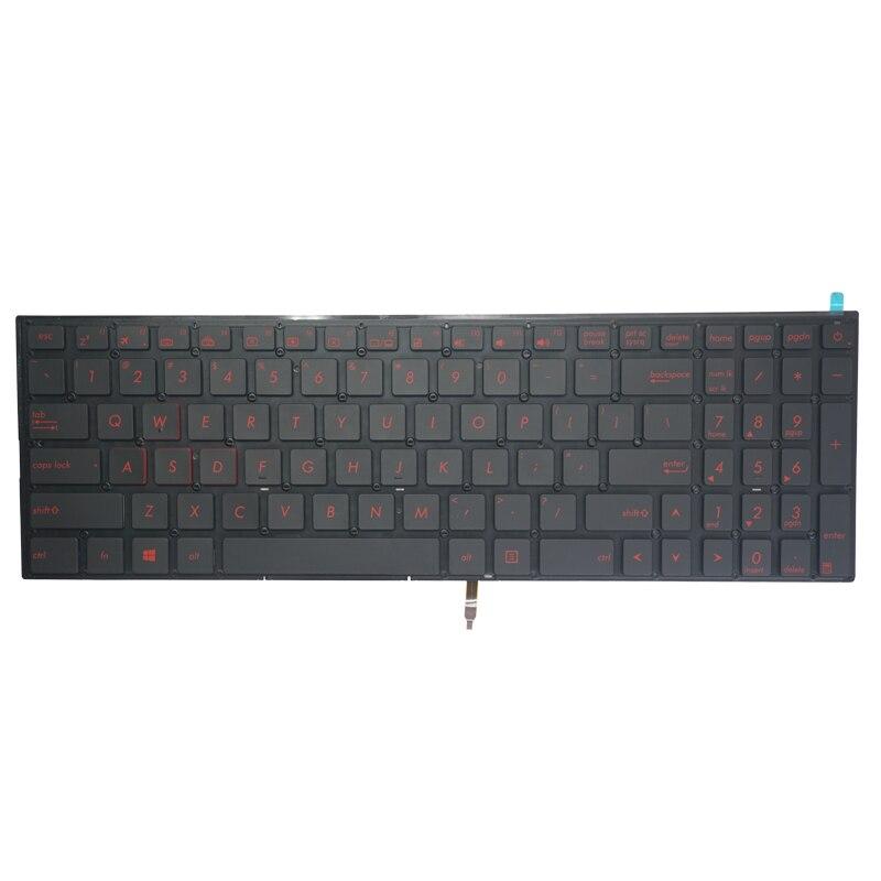 Free Shipping!! 1PC New Laptop Keyboard Standard For Asus Q501L Q501LA q501