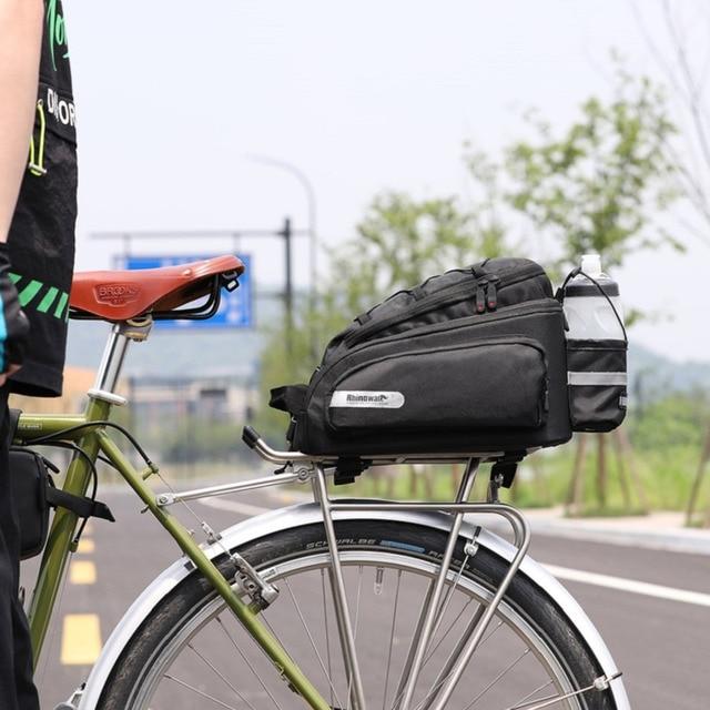 Petyoung Borsa da Sella per Bici Marsupio Portabicicletta Borsa per Attrezzi Posteriore Borsa da Sella per Bici sotto Il Sedile per Mountain Bike da Strada Nera