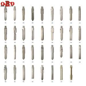 Image 2 - HKOBDII 175/set Leere Metall Uncut Auto Schlüssel Klinge für KEYDIY KD900/KD X2 KD VVDI JMD Fernbedienungen