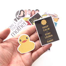 CA37 20 Pcs/set How I Met Your Mother  TV Show DIY Skateboard Graffiti Laptop Badge Motorcycle Luggage Accessories