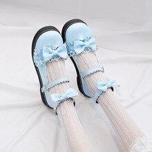 LoveLive студенческие туфли в стиле «лолита» Колледж; девичьи туфли; JK женская обувь для путешествий под школьную форму туфли из искусственной кожи; обувь