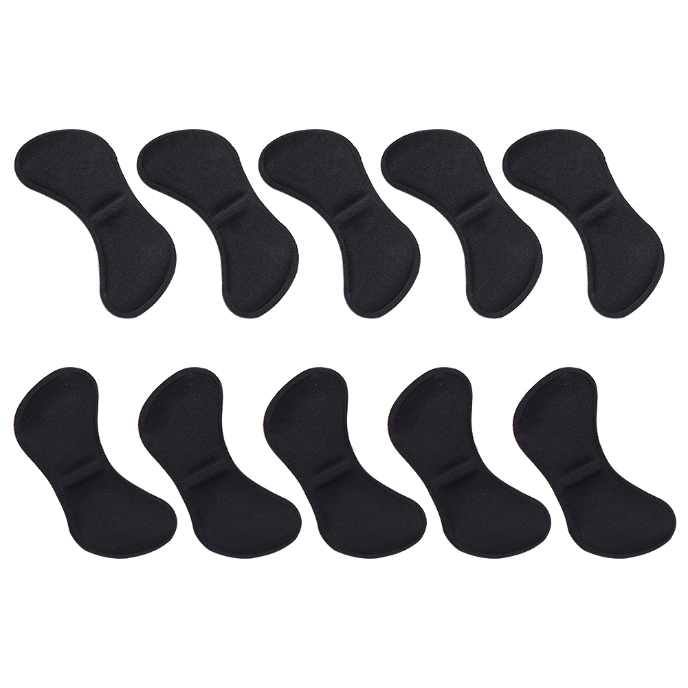 5 Pairs Crash Heel Sticker Cushion Adhesive Insole Feet Care Patch Pads Heel Liner Pain Relief Anti-wear