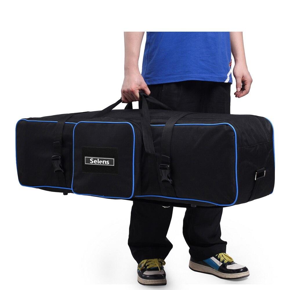 Meking 105 cm/43in trépied sac équipement de photographie pour supports de lumière parapluies trépied Studio Gear étui de transport étanche