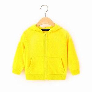 Image 5 - ילדי בגדי בני מעילי ילדי ברדס רוכסן צבעים בוהקים ספורט תינוק אופנה הדפסת מעיל תינוקות עמיד למים נים עבור בנות