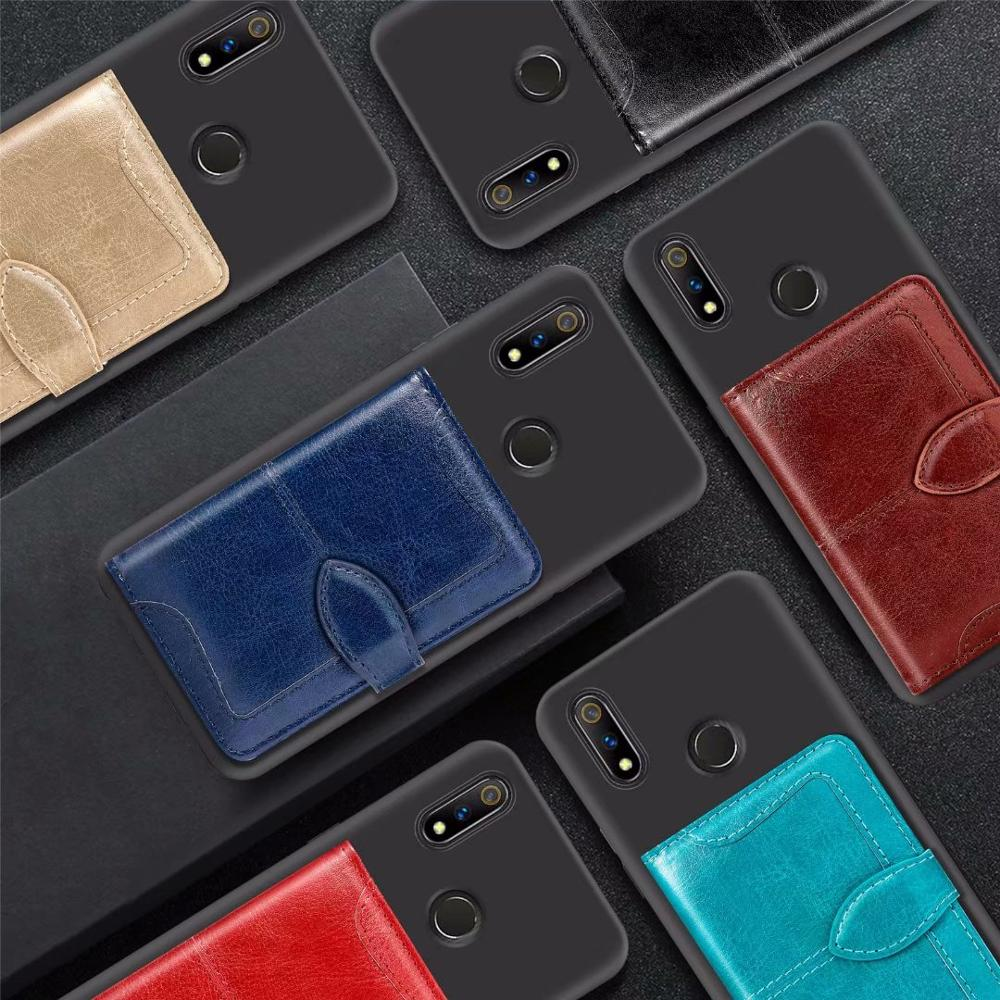 Vintage CardSlot PU Leather Case For <font><b>ZTE</b></font> <font><b>Blade</b></font> A520 V10 V8 Vita V8Mini A3 2019 L8 <font><b>A610Plus</b></font> A6 A0620 Soft Cover image