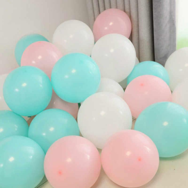 DCM 1/5pcs 10 Polegada Transparente Balão De Látex Decoração Decorações Da Festa de Aniversário de Casamento Romântico Bola De Ar @ 1