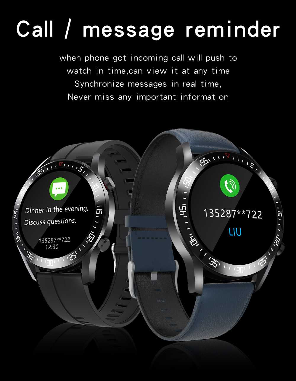 H141146eab9f841d6b9c89f45acbd0c19T XUESEVEN 2021 HD Full circle touch screen Mens Smart Watches IP68 Waterproof Sports Fitness Watch Fashion Smart Watch for men