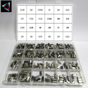 480 sztuk SMD 49s 24 wartości oscylator kwarcowy zestaw elektroniczny HC-49 32 768 4 8 12 16 20 25 MHZ ceramiczne rezonator kwarcowy tanie i dobre opinie NoEnName_Null CN (pochodzenie)