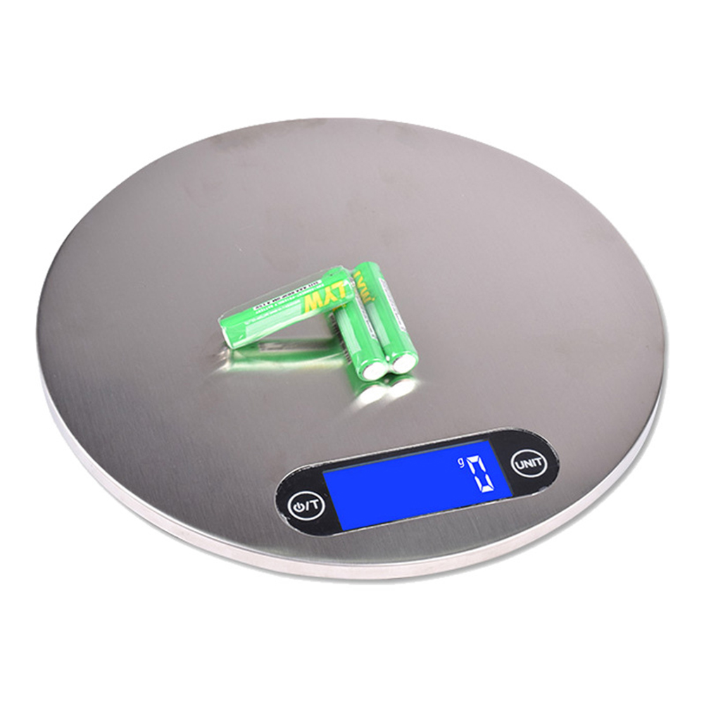 Electronic Balance Scales Digital Measuring Weighing Kitchen 5000g/1g Food Scale LCD Display High Precision Sensor Kitchen Libra