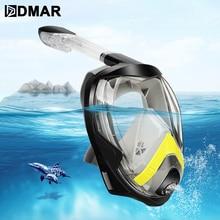 Snorkeling-Mask Gopro Kids Anti-Fog Swimming Underwater Full-Face Adult Folding All-Dry