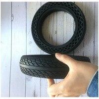 Pneu durável para xiao mi jia m365 mi scooter pneu furo sólido pneus amortecedor não-pneumático pneus de borracha de amortecimento roda