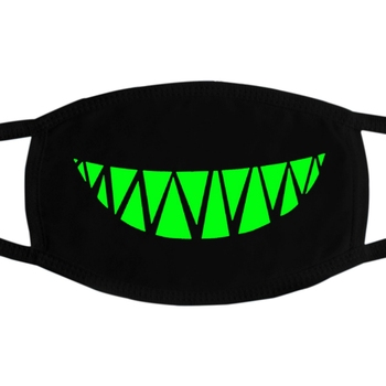 PM2.5 Dustproof Mouth Mask Anti Dust Luminous Face Masks With Horror Pattern Fast Drop Shipping 2