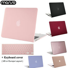 Funda para portátil MOSISO 2019 Funda para A2159 A1989 A1706 Macbook Pro 13 Touch bar Funda dura para nuevo Mac book Air 13 A1932 2018(China)