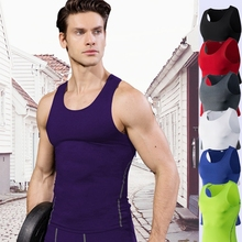 T-Shirt Clothing Running-Vest Compression-Tights Fitness Sports Summer Sleeveless Gym-Tops