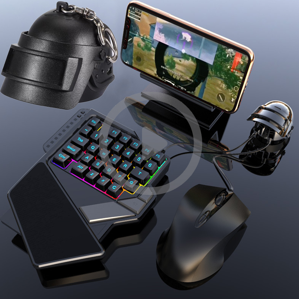 PUBG Mobile Gamepad Controller Gaming Keyboard Mouse Converter For Android Huawei Xiaomi IPhone IPhone To PC Bluetooth Adapter