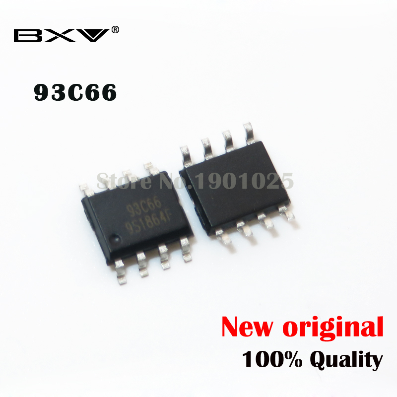10PCS 93C66A SOP-8 93C66 SOP SMD New Original