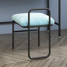 Скандинавский туалетный стул, стул для макияжа, современный минималистичный туалетный стул, стул для макияжа, стул для спальни, стул для гостиной, мебель